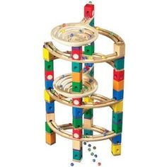 We have one of these set up in our play area and it never fails to fascinate.