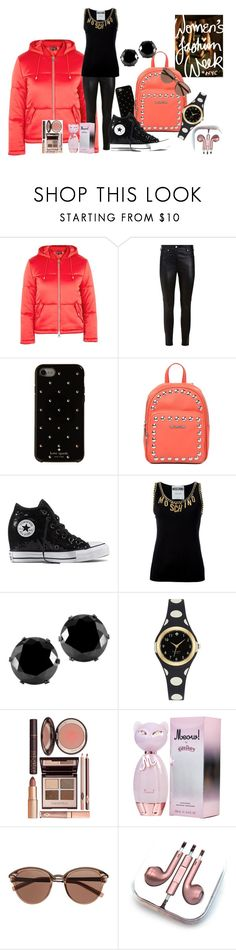 """""""Pretty sport"""" by krissel1 on Polyvore featuring moda, Topshop, Givenchy, Kate Spade, Love Moschino, Converse, Moschino, West Coast Jewelry, Charlotte Tilbury y Witchery"""