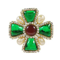 Fabulous Vintage Chanel Gripoix Brooch/Pin