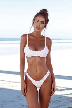 Nice 2018 Sexy Micro Bikini Plus Size Swimwear Women Swimsuit Female Beach Wear Push up Thong Brazilian Bikini Set White Bathing Suit - Buy it Now! Bikini Push Up, Sexy Bikini, Brasilianischer Bikini, Bikini String, Bikini Girls, Bikini 2018, Bikini Beach, Mädchen In Bikinis, Beauty