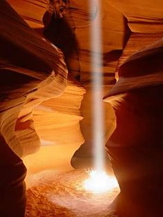 Beam, Antelope Canyon, Arizona