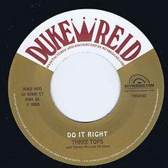 (RE) DO IT RIGHT / THREE TOPS - MORE AXE RECORDS|Ska,RockSteady,Reggae,Calypso,Roots,Dancehall,Dub