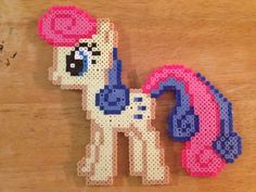My Little Pony perler bead sprite by ZapApplePixels