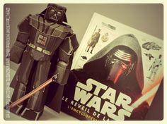 Livre et pliage Star Wars