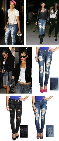 Angela Simmons, Megan Good, Rihanna... love these jeans