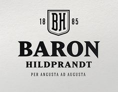"Check out new work on my @Behance portfolio: ""BARON HILDBRAND Logo & design bottle"" http://be.net/gallery/57480465/BARON-HILDBRAND-Logo-design-bottle"