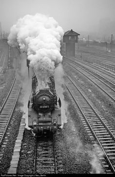 RailPictures.Net Photo: 03 2058 Deutsche Reichsbahn Steam 4-6-2 at Berlin, Germany by J Neu, Berlin