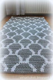 - [board_name] - Teppich Crochet Doily Rug, Crochet Rug Patterns, Crochet Carpet, Tapestry Crochet, Crochet Home, Beige Carpet, Diy Carpet, Rugs On Carpet, Knit Rug