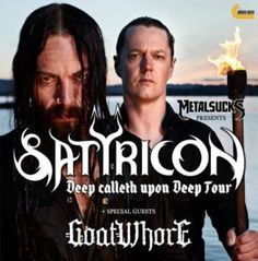 """SATYRICON Recruit GOATWHORE To Support Upcoming """"Final"""" N. American Tour"""