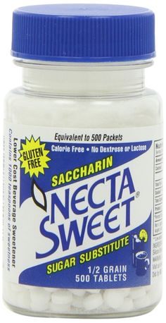Necta Sweet Sugar Substitute Tablets, 1/2 Grain, 500-count Bottle (Pack of 3) *** More info could be found at the image url.