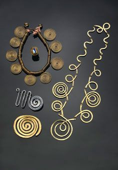 """Alexander Calder at Christie's, jewellery from the estate of Aino and Alvar  Aalto. """" Much of Calder's jewelry was created for specific individuals as  gifts ..."""