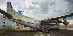 C-123 Plane used in the movie Con Air. Wendover Utah. (4088x2040)