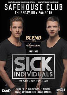 Safe House Bangkok presents Sick Individuals! #Bangkok #ClubLife #Nightlife