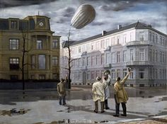 """Zeppelin"" - Carel Willink"