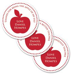 Personalised Stickers - order and personalise online at www.macaroon.co.za