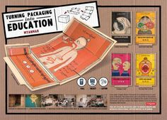 TURNING PACKAGING INTO EDUCATION - YOUR DIGESTIVE SYSTEM, Y&R Kuala Lumpur, Colgate, Print, Outdoor, Ads