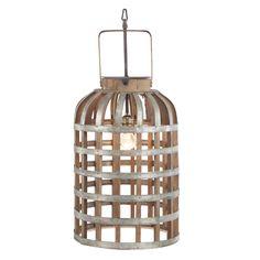 Multi-Color Fischer Pendant Lamp (12x24 Lamp), Silver (Aluminum)
