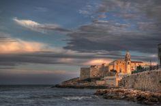 Scorcio panoramico di Vieste, Gargano, Puglia