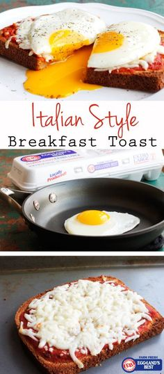 Who doesn't like pizza for breakfast? #EgglandsBest #Toast   Couldn't be easier! And only 180 Calories   Great recipe from /egglandsbest/ .client