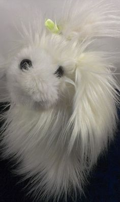 "Battat Lifelike White Furry Maltese Terrier Stuffed Animal Plush Puppy Dog 10""  #x"