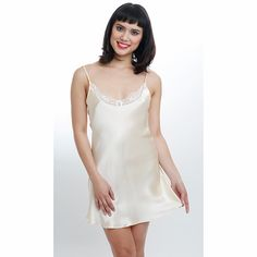 Michelle Chemise - Bridal Creme – Be By Nadja