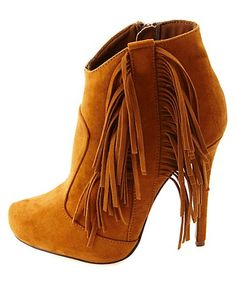 Oh my WORD!!! Obsessed!! «3 Loveeee   High Heel Fringe Booties #CharlotteRusse #CRFashionista #booties