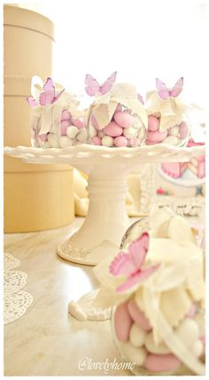 Gift jars of candy for Spring Gift, Baby Shower, Easter . . . .