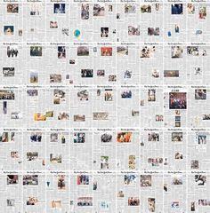 The New York Times published its first issue on September 18, 1851, but the first photos wouldn't appear on the cover until the early 1900s over 60 years later. This visual timeline by self-described data artist Josh Begley captures the storied newspaper's approach to layout and photography by incor