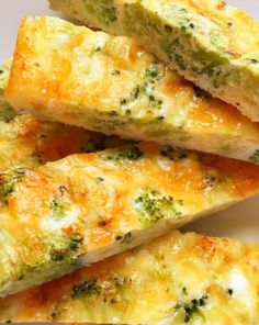 IDEA Health and Fitness Association: Cheese and Broccoli Eggy Fingers