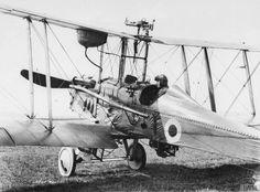 Q 68263  B.E.12b single-seat general purpose biplane. Used for Home Defence duties.