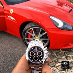 rolex ferrari - Google Search Rolex Tudor, Luxe Life, Ferrari, Boat, Google Search, Luxury, Sexy, Shoes, Dinghy