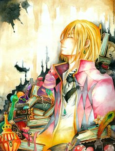 HOWL by MaikohSakura.deviantart.com on @deviantART