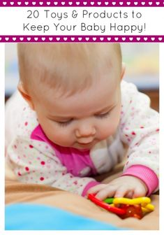 Are you looking for great gift ideas for baby? We have rounded up 20 Toys & Products to keep your Baby happy!
