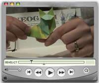 VideoTutoriales En la página origami.yeahost he encontrado unos VideoTutoriales muy buenos de varios módulos curiosos de papiroflexia: una rana (o algo par