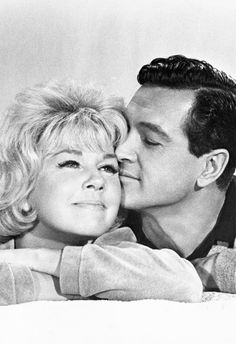 Doris Day and Rock Hudson...they worked together well on the screen.