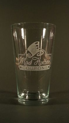 Customer engraved pint glass, made to customers specks, everything we engrave is done one at a time by hand in the USA Engraved Beer Mugs, Pint Glass, Usa, Tableware, Dinnerware, Beer Glassware, Tablewares, Dishes, Place Settings