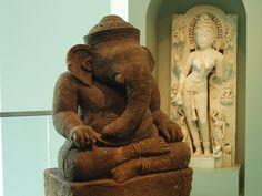 Ganesh at the Birmingham Museum of Art by TideUofAL, via Flickr
