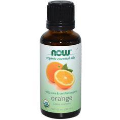 Organic Essential Oils Orange 1 oz