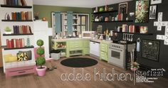 ADELE KITCHEN BY STEFIZZI This kitchen is inspired to TS2 creator Adele. (and has nothing to do with her xD) This is the first object set of my life, I am very proud of how it turned out! ✨ ✨ Please,...