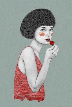 illustrations by Sofia Bonati http://www.artisticmoods.com/sofia-bonati/