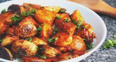 Spicy New Potatoes in Arrabbiata Sauce