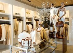 Ralph Lauren St Moritz store. Visual merchandising. Retail store display. Clothing / Accessories.