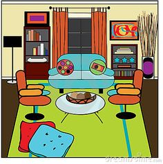 29++ Messy living room clipart ideas