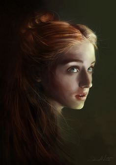 Game of Thrones Illustrations by Anna Mitura