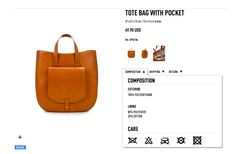 product page (details)... zara