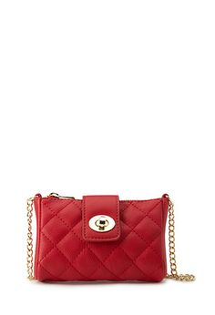 Night Moves Quilted Crossbody | FOREVER21 PLUS - 1000063801