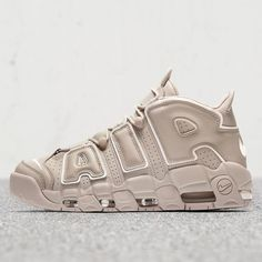 more photos 22e3c c8463 The Nike Air More Uptempo Light Bone (Style Code will release in Europe on  July featuring off-white tonal shades throughout. More here