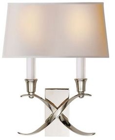 Visual Comfort Bouillotte Double Sconce - Gracious Home