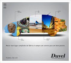 Homenagem aniversário São Luís - Anúncio de jornal - DUVEL