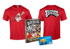 Do your kids love to read? Reading gives you superpowers! Check out our Captain Underpants Giveaway where your kids can win the book, t-shirt and gift card!
